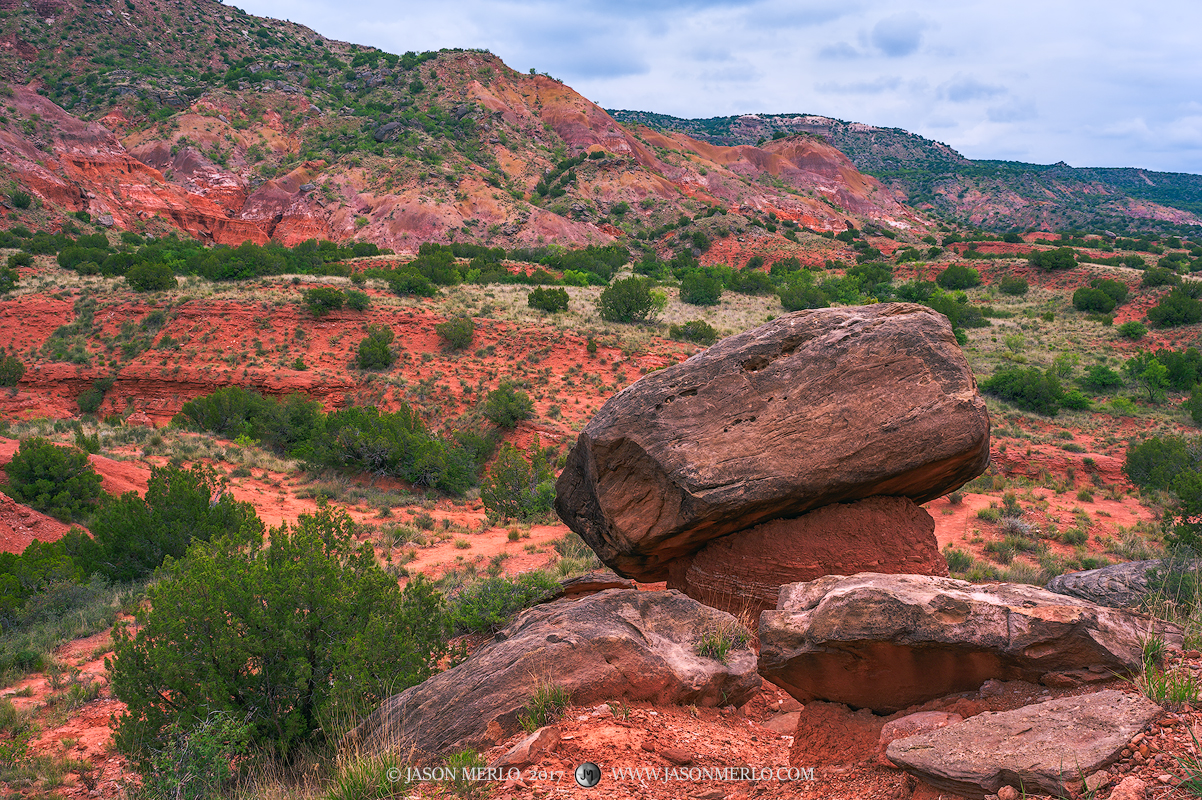 Palo Duro Canyon State Park, Texas Panhandle, Randall County, hoodoo, photo