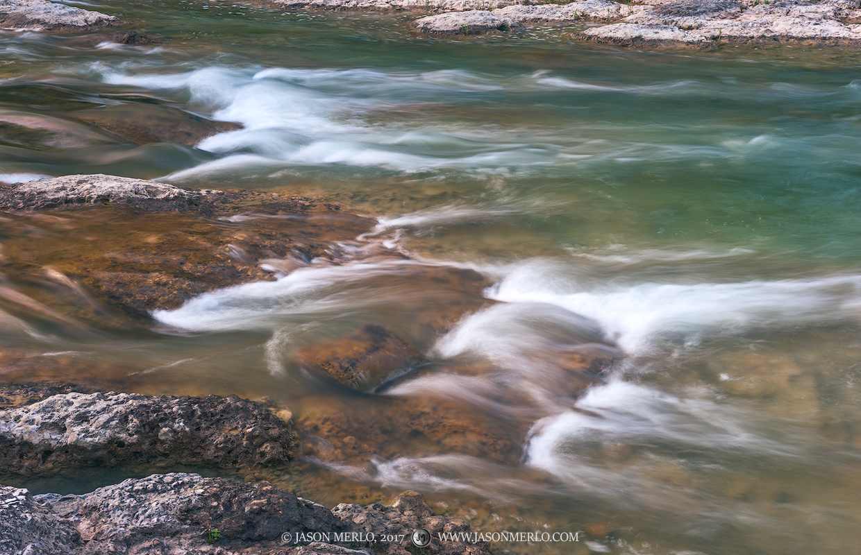 Pedernales Falls State Park, Texas Hill Country, Blanco County, Johnson City, Dripping Springs, Pedernales River, rapids, photo