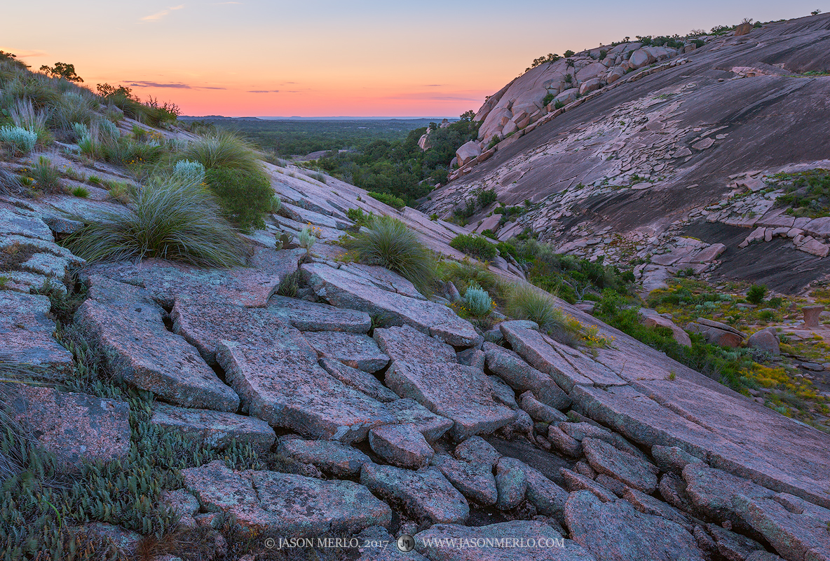 Enchanted Rock State Natural Area, state park, Texas Hill Country, Llano, Fredericksburg, Llano County, Gillespie County, Llano Uplift, batholith, photo