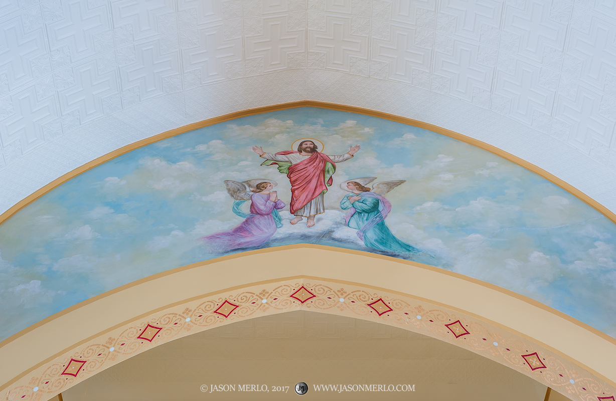 Queen of Peace Catholic Church, Sweet Home, Lavaca County, Painted Churches of Texas, photo