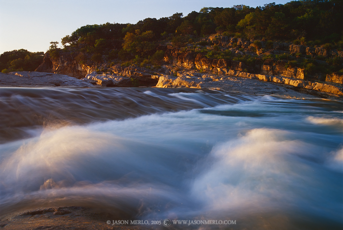 Pedernales Falls State Park, Texas Hill Country, Blanco County, Johnson City, Dripping Springs, Pedernales River, waterfall, photo